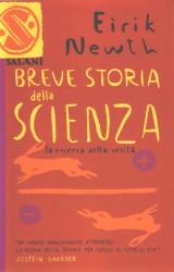 """Copertina di """"Breve storia della scienza"""""""