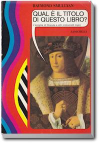 """Copertina de """"Qual è il titolo di questo libro?"""""""