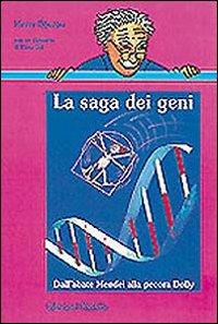 """Copertina de """"La saga dei geni"""""""