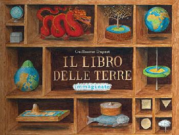 """Copertina de """"Il libro delle terre immaginate"""""""