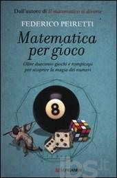 """Copertina di """"Matematica per gioco"""""""