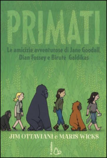 """Copertina di """"Primati"""""""