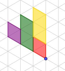 figura 1 - trova le immagini tramite rotazioni successive di 60° in senso orario