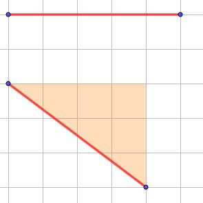segmenti lunghi 5 quadretti